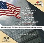 "Dvorak: Symphony No. 9 (""New World""); Tchaikovsky: Romeo and Juliet Overture"