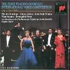 Premier Concours International de Voix d'Opera Placido Domingo: Paris 1993