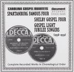 Carolina Gospel Quartets: 1938-1939