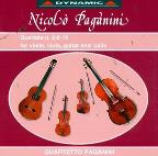 Paganini: Quartets Nos. 2, 8, 15 for Violin, Viola, Guitar & Cello