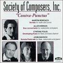 Society Of Composers, Inc. - Contra-Punctus