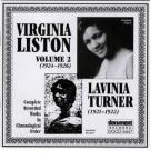 Virginia Liston, Vol. 2: 1924 - 1926