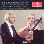 Shostakovich, Brahms: Sonatas for Cello & Piano