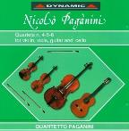 Paganini: 15 Qts. For Strings And Guitar