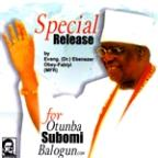 Otunba Subomi Balogun - Single