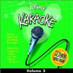 Disney Karaoke, Vol. 3