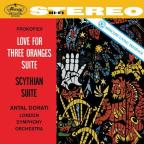 Prokofiev: Love for Three Organes; Scythian Suite