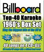 Billboard 1960's: Top 40 Karaoke Box Set