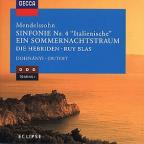 "Mendelssohn: Symphony No. 4 ""Italian"", A Midsummer Night's Dream"