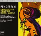Penderecki: String Quartets; String Trio; Clarinet Quartet