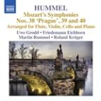 Mozart: Symphonies Nos. 38-40 (arranged by Hummel)