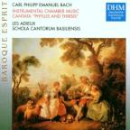 Bach C. Ph. E: Instrumental Chamber Music, Cantata 'Phylis And Thirsis'