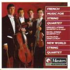 French Music For String Quartet / New World Quartet