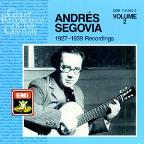 Andres Segovia: 1927 - 1939 Recordings, Vol. 2