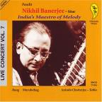 India's Maestro of Melody: Live Concert, Vol. 7