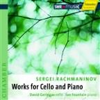 Sergei Rachmaninov: Works for Cello and Piano