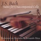 J. S. Bach: Suites for Unaccompanied Cello performed on Marimba