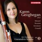 Karen Geoghegan plays Mozart, Rossini, Kreutzer, Crusell