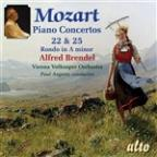 Mozart: Piano Concertos Nos. 22 and 25; Rondo No. 3