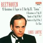 "Beethoven: 15 Variations & Fugue, Op. 35, ""Eroica""; 6 Variations in F, Op. 34, etc."