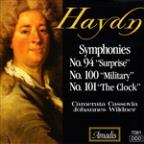 "Haydn: Symphonies No. 94 ""Surprise""; No. 100 ""Military""; No. 101 ""The Clock"""
