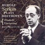 Rudolf Serkin plays Beethoven