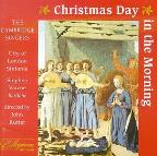 Christmas Day In The Morning / Rutter, Cambridge Singers