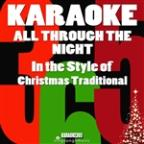 All Through The Night (In The Style Of Christmas Traditional) [karaoke Version] - Single