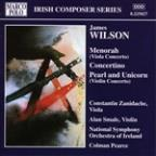 Wilson: Menorah, Concertino, Pearl and Unicorn / Pearce, etc
