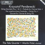 Penderecki: Musid For Clarinet & String Quartet