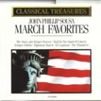 Classical Treasures - Sousa: March Favorites