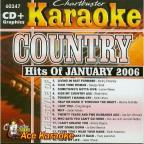 Karaoke: Country Hits Of January 2006