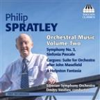 Philip Spratley: Orchestral Music, Vol. 2