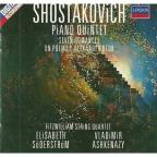 Shostakovich: Piano Quintet, etc / Ashkenazy, Fitzwilliam Qt