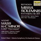 "Beethoven: Missa Solemnis in D major, Op. 123; Mozart: Mass in C minor, K. 427 ""The Great"""