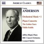 American Classics - Anderson: Orchestral Music Vol 1