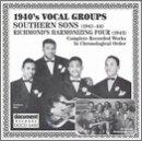 1940's Vocal Groups: Southern Sons (1941-1944); Harmonizing Four (1943)