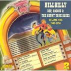 Hillbilly Bop, Boogie and the Honky Tonk Blues, Vol. 1: 1948 - 1950