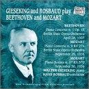 Gieseking and Rosbaud Play Beethoven and Mozart