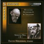 Sessions: Sonatas Nos 1 & 3; Shapey: Mutations