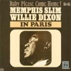 Memphis Slim & Willie Dixon in Paris