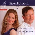 Mozart: Complete Sonatas for Keyboard & Violin, Vol. 6