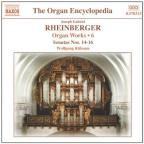 Rheinberger: Organ Works, Vol. 6 (Sonatas Nos. 14 - 16)