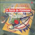 Stravinsky: Le Sacre du Printemps, Symphony in 3 Movements