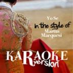 Urge (In The Style Of Martin Urieta) [karaoke Version] - Single