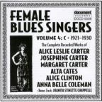 Female Blues Singers: Complete Recorded Works: Vol. 4 (1921 - 30).