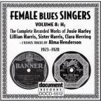 Female Blues Singers: Complete Recorded Works: Vol. 8 (1923 - 28).