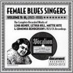 Female Blues Singers: Complete Recorded Works: Vol. 9 (1923 - 30).