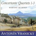 Vranicky: Concertante Quartets 1-3 / Martinu Quartet