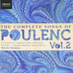 Complete Songs of Poulenc, Vol. 2